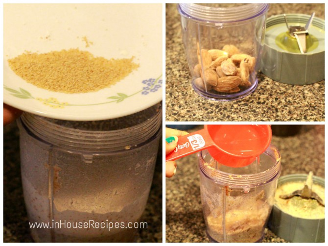 Almond powder – Tofu kofta curry