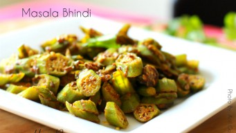 Masala Bhindi no Onion no Garlic