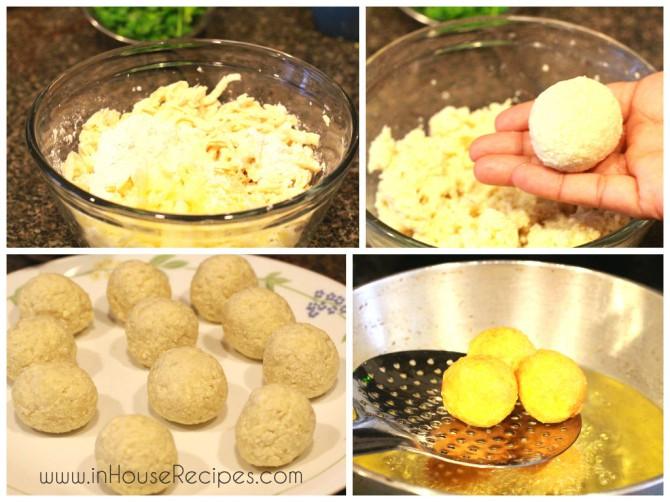 Frying Tofu Kofta