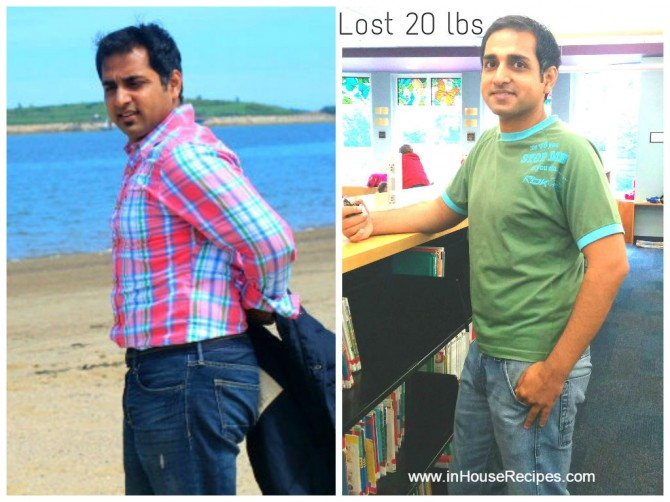 Lost 20 pound weight - Anil Gupta