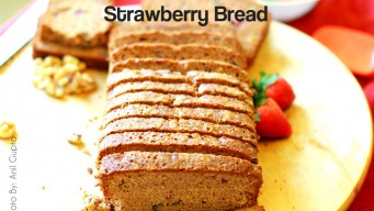Strawberry bread cake – the sweet treat for kids