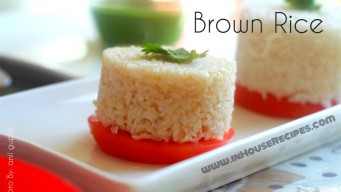 Brown rice cook on stove