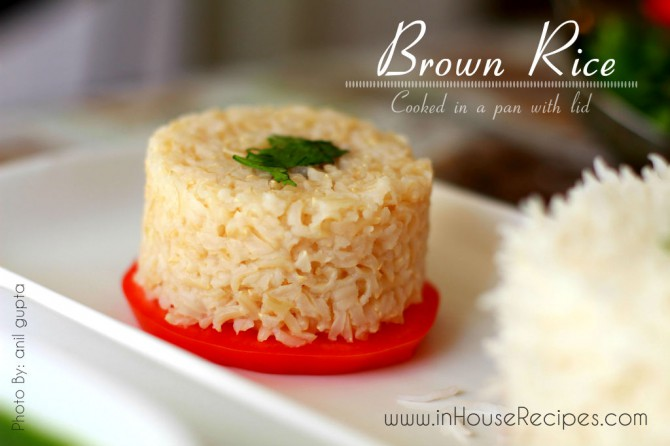 Cook Brown Rice on Stove Recipe [Pics] - inHouseRecipes