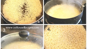 Cook brown rice on stove in 25 minutes