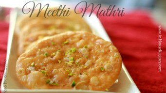 Meethi Mathri for Karva chauth Vrat