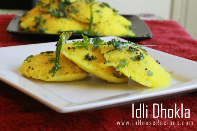 Idli dhokla recipe