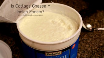 Is cottage cheese equal to Indian paneer? No. It is not.