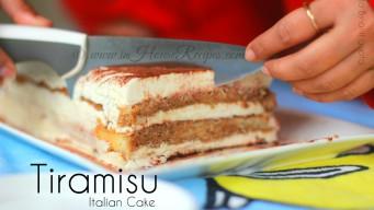 Tiramisu Italian cake recipe