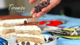 Tiramisu cake pastry