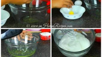 Whip egg-white