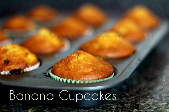 Banana Cupcake Recipe In Oven With Eggs Inhouserecipes