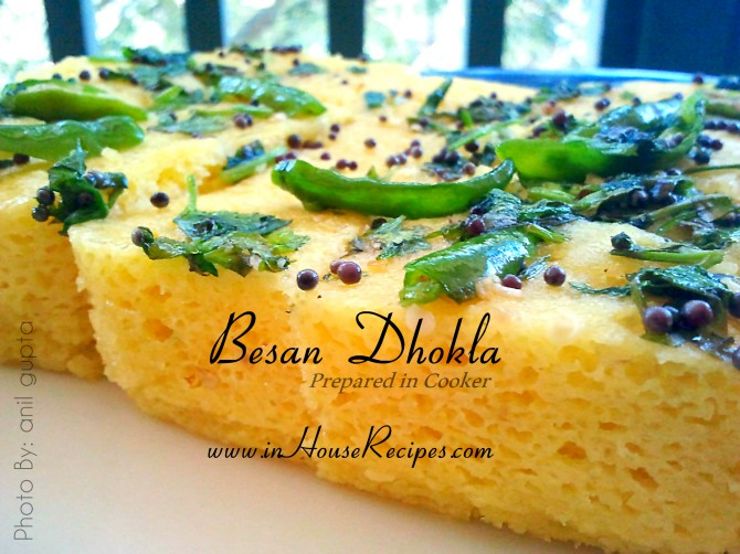 Dhokla recipe in cooker with besan video inhouserecipes forumfinder Choice Image