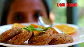 Dahi kabab Indian recipe