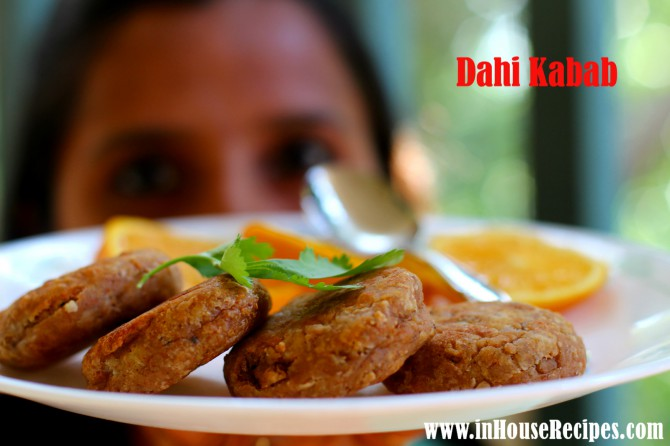 Dahi kabab Indian recipe