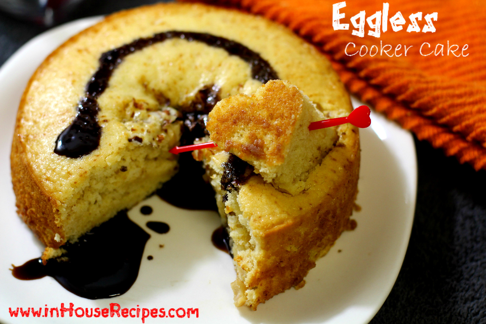 Eggless Cake In Pressure Cooker Recipe Inhouserecipes