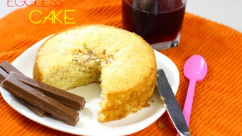 Eggless Cake In Cooker Can be as soft as any other cake baked in Oven with Egg