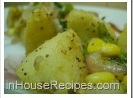 Masala Corn Idli Recipe