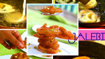 Instant Jalebi – This recipe does not need long fermentation time