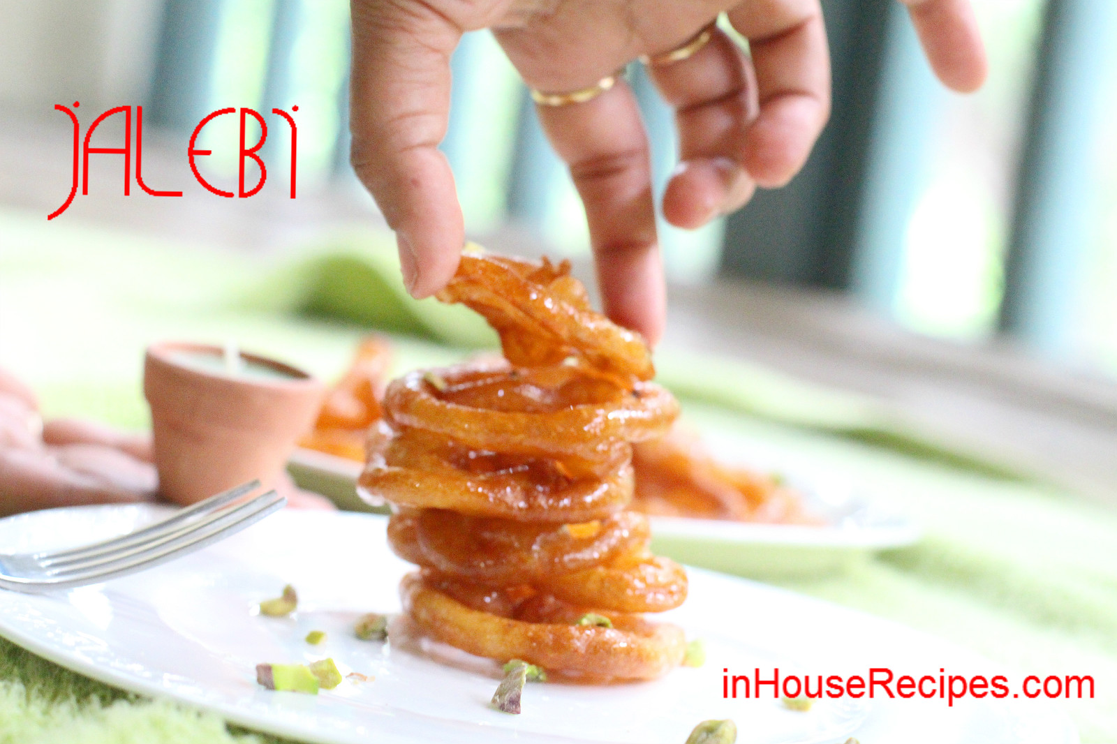 Instant jalebi recipe with yeast crispy crunchy juicy inhouserecipes forumfinder Image collections