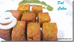 Dal Cubes Tea Time Snack