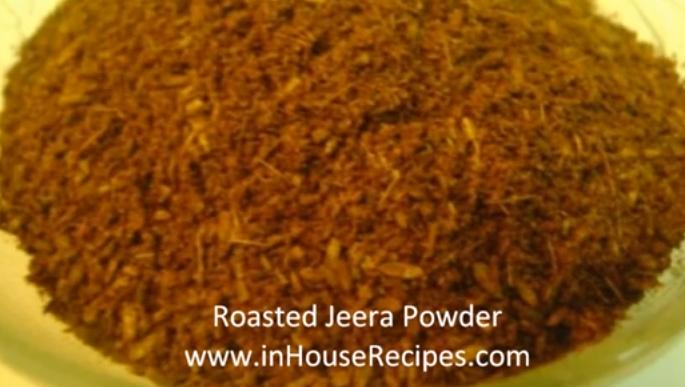 roast jeera