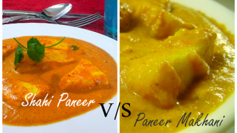 What is the difference between Shahi paneer and Paneer Makhni